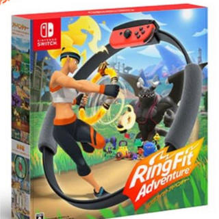 ニンテンドースイッチ(Nintendo Switch)のリングフィット アドベンチャー Nintendo Switch ニンテンドー(家庭用ゲームソフト)