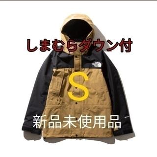 THE NORTH FACE - マウンテンライトジャケット 新品未使用品 しまむらダウン付き BK Sサイズ