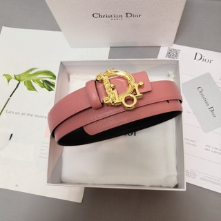 クリスチャンディオール(Christian Dior)のChristian Dior ベルト2.5cm 牛革 両サイド利用可(ベルト)