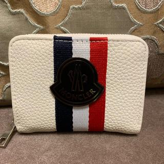 MONCLER - モンクレール⭐︎小銭入れ⭐︎白⭐︎財布⭐︎カード入れ