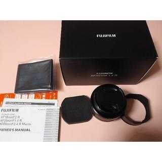 富士フイルム - 美品 富士フイルム フジノンレンズ XF35mmF1.4 R