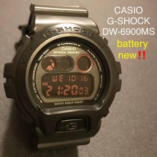 【かなり美品】CASIO G-SHOCK DW6900MS 腕時計(腕時計(デジタル))