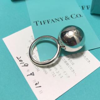 Tiffany & Co. - ティファニーハードウェアボールリング 15.75mm 9号