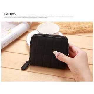 財布 二つ折り コイン カード ケース おしゃれ かわいい コンパクト ブラック(財布)