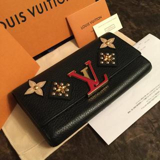 ルイヴィトン(LOUIS VUITTON)のLOUIS VUITTON ルイ・ヴィトン/ ポルトフォイユ・カプシーヌ(財布)