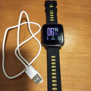 yamayスマートウォッチsw018(腕時計(デジタル))