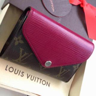 ルイヴィトン(LOUIS VUITTON)の正規品ルイヴィトン折財布(財布)