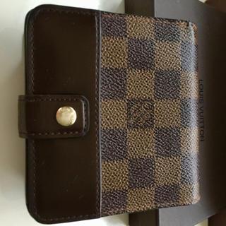LOUIS VUITTON - 正規品ルイヴィトンコンパクトジップダミエ 折財布