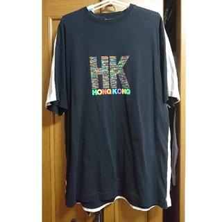 バレンシアガ(Balenciaga)の18SS VETEMENTS HONG KONG ドッキング Tシャツ(Tシャツ/カットソー(半袖/袖なし))