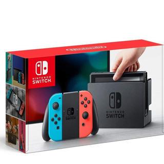 ニンテンドースイッチ(Nintendo Switch)の任天堂スイッチ本体 新品 Nintendo Switch本体(家庭用ゲーム機本体)