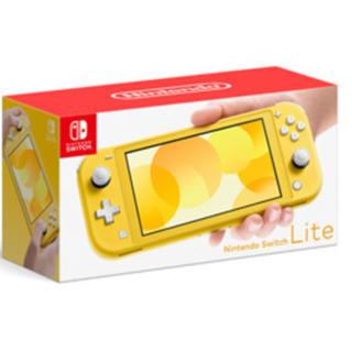 ニンテンドースイッチ(Nintendo Switch)の送料無料 任天堂スイッチライト イエロー ニンテンドースイッチライト 本体 (家庭用ゲーム機本体)