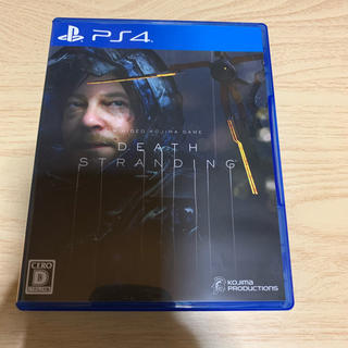 プレイステーション4(PlayStation4)のデスストランディング PS4(家庭用ゲームソフト)