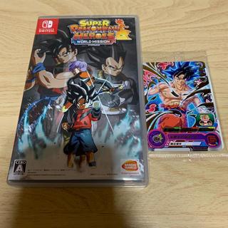 ニンテンドースイッチ(Nintendo Switch)のスーパードラゴンボールヒーローズ ワールドミッション(家庭用ゲームソフト)
