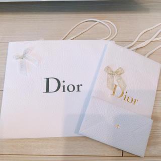 クリスチャンディオール(Christian Dior)のディオール  ショップ袋 2点(ショップ袋)