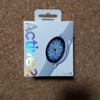 ギャラクシー(Galaxy)のSamsung Galaxy watch active2 40mm(腕時計(デジタル))
