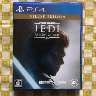 プレイステーション4(PlayStation4)のPS4 ジェダイフォールンオーダー デラックスエディション 特典未使用(家庭用ゲームソフト)