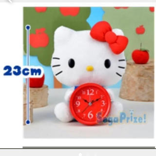 ハローキティ - キティ 目覚まし時計 置き時計 ハローキティ