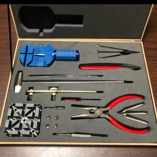 時計修理、ブレスレット調整、ベルト交換、工具セット(その他)