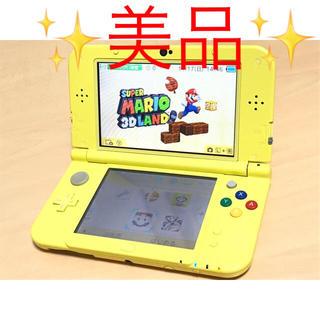 ニンテンドー3DS(ニンテンドー3DS)の【送料無料】ニンテンドーNew3DSLL ピカチュウエディション(家庭用ゲーム機本体)