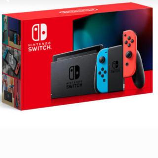 ニンテンドースイッチ(Nintendo Switch)の新品未開封 新型 Nintendo switch ネオンブルー ネオンレッド(家庭用ゲーム機本体)