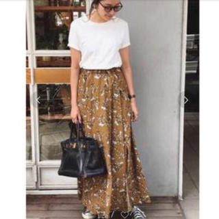 TODAYFUL - todayfulフラワースリットスカート