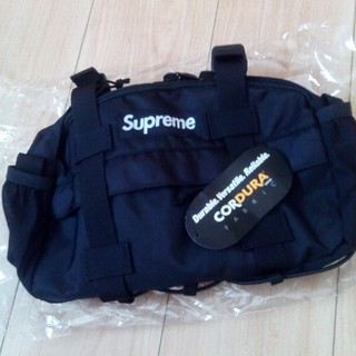 Supreme - Supreme waist bag  BLACK