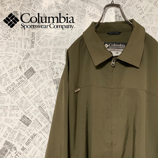 Columbia - 90s コロンビア スウィングトップ ポリエステル素材 ワンポイントロゴ