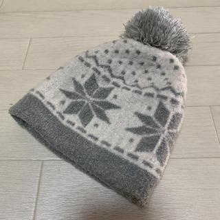 MUJI (無印良品) - 【MUJI】無印良品 ニットキャップ ニット帽 50-54cm ユニセックス