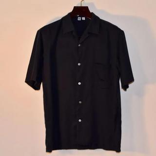 ユニクロ(UNIQLO)のUNIQLO U オープンカラーシャツ 半袖シャツ(シャツ)
