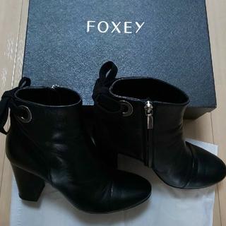 FOXEY - FOXEY ブーツ 37