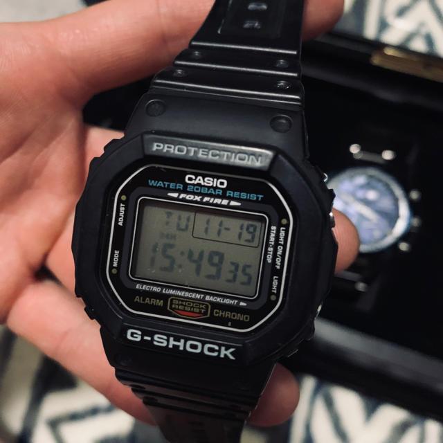 G-SHOCK - 最終値下げ!CASIO G-SHOCK DW 5600  美品 ケース保管の通販