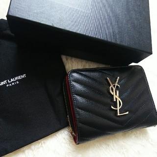 Saint Laurent - 【美品】イブサンローラン2つ折り財布