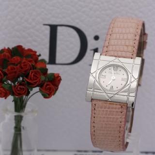 クリスチャンディオール(Christian Dior)の正規品【新品電池】Christian Dior/シルバー 稼働OK 人気(腕時計)