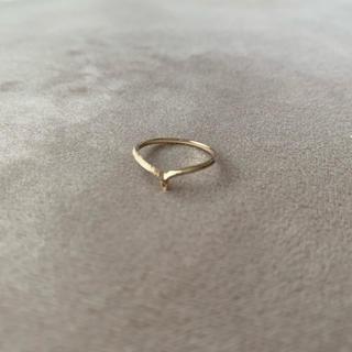 ノジェス(NOJESS)のノジェス ピンキーリング 5号 10KYG(リング(指輪))