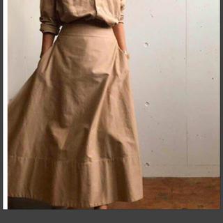 MADISONBLUE - 美品 マディソンブルー チノマキシフレアスカート