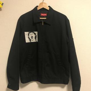 シュプリーム(Supreme)のsupreme akira work jacket 黒 Mサイズ(ブルゾン)