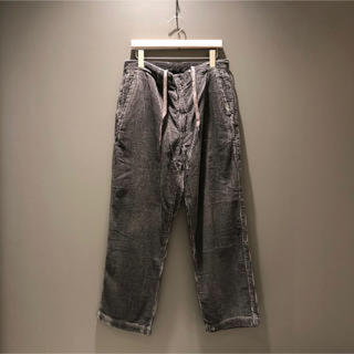 BEAMS - BEAMS  SSZ P.O.P BLK 8PKT PANTS