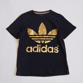 アディダス(adidas)のadidas トレフォイルロゴ ゴールドプリント Tシャツ★アディダス(Tシャツ(半袖/袖なし))