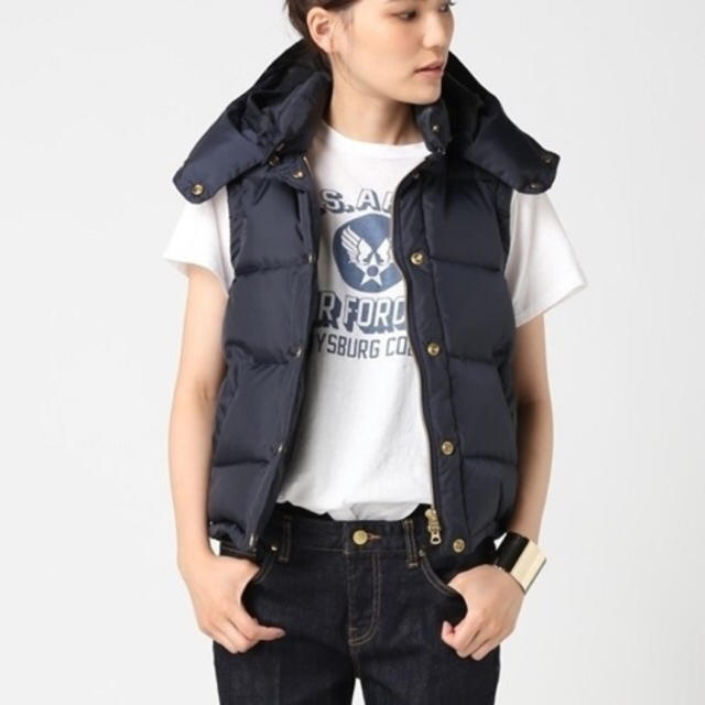 DEUXIEME CLASSE(ドゥーズィエムクラス)のシュタンバウム ダウンベスト レディースのジャケット/アウター(ダウンベスト)の商品写真