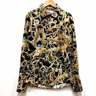 ヴィヴィアンウエストウッド(Vivienne Westwood)の希少 新品同様 ヴィヴィアンウエストウッド マン 宝石 総柄 シャツ(シャツ)