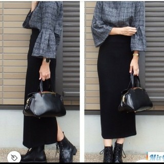 GRL - グレイル ニットタイトスカートMサイズ黒