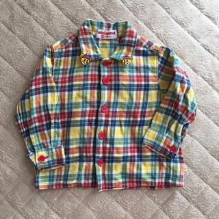 ミキハウス 80センチ チェックシャツ