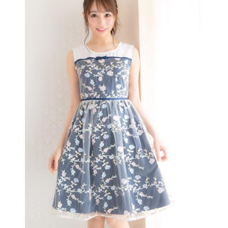 cherry Ann - 美品♡刺繍ワンピース