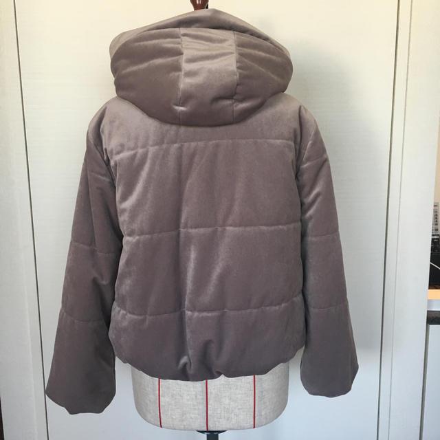 MAJESTIC LEGON(マジェスティックレゴン)の綺麗な色のダウンコート レディースのジャケット/アウター(ダウンジャケット)の商品写真