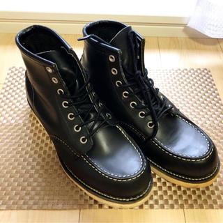 レッドウィング(REDWING)のREDWING レッドウィング 8130 size:7.5D 25.5cm 黒(ブーツ)