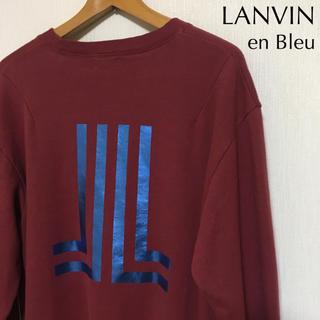 ランバンオンブルー(LANVIN en Bleu)のLANVIN en Bleu ランバン XL相当 52 スウェット/トレーナー(スウェット)