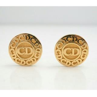 Christian Dior - 【USED】クリスチャンディオール CDロゴ イヤリング ヴィンテージ ゴールド