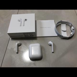 Apple - 【ケーブル未使用!!】Apple AirPods エアーポッズ 第一世代