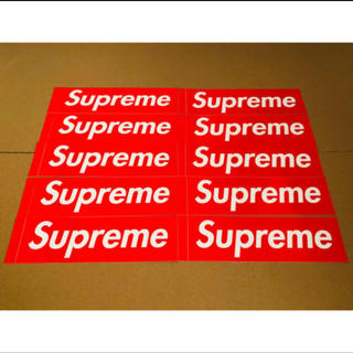 Supreme - Supreme Box Logo Sticker シュプリーム ステッカー