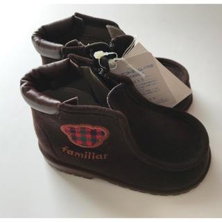 ファミリア(familiar)の新品未使用タグ付き ファミリア ブーツ(ブーツ)